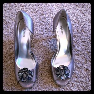Women's Style and Co Heels with embellishment